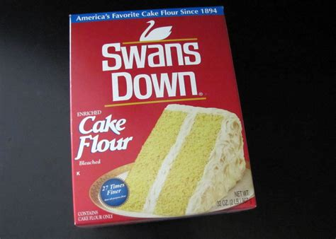 smells like food in here swans down cake flour