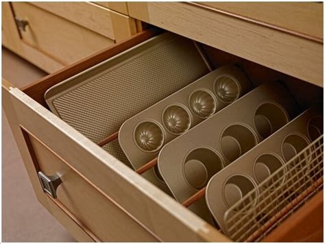 baking pan storage 10 practical cookie sheet and baking tray storage ideas