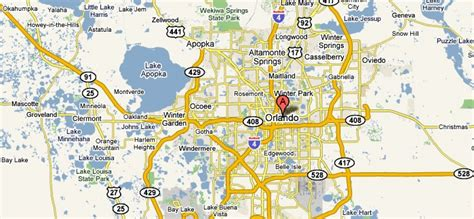orlando on map of usa maps update 7001125 orlando florida tourist attractions