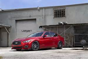 Infiniti Q50 Aftermarket Infiniti Q50 Velgen Wheels Vmb7 Custom Powder Coated