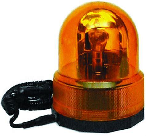 Bright Orange Car by Revolving Orange Beacon Light Car Breakdown