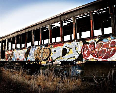 wallpaper vehicle train graffiti cargo locomotive
