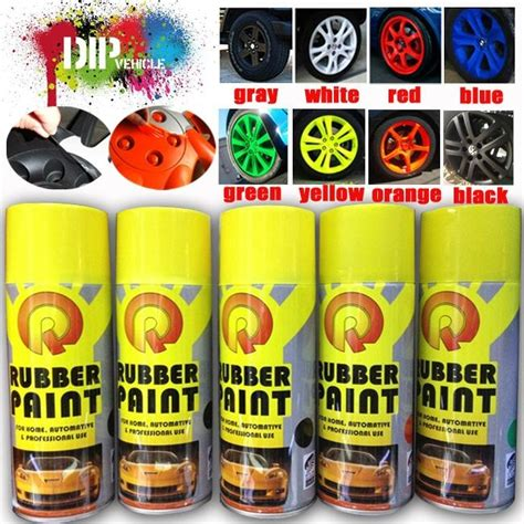Colorfull Rubber Spray colorful car rubber paint spray peelable instantly