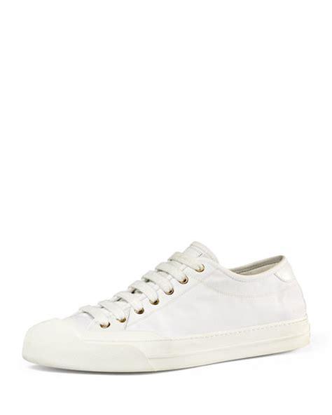 gucci white sneakers gucci canvas low top sneaker white