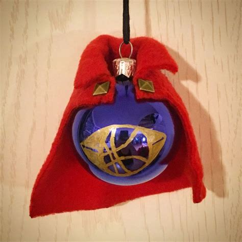 doctor strange stephen strange christmas ornament handmade bauble fanmade marvel mcu