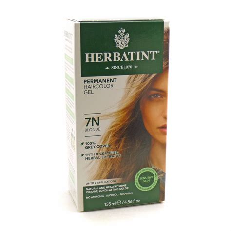 herbatint hair color herbal hair color 7n by herbatint hair products