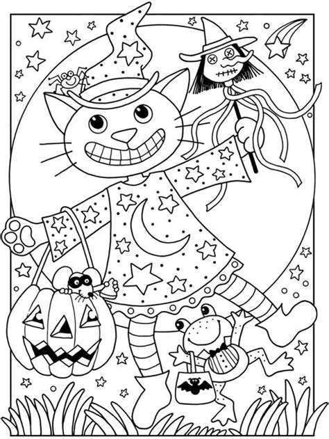 199 best halloween to color images on pinterest coloring coloriage d halloween 224 imprimer gratuitement