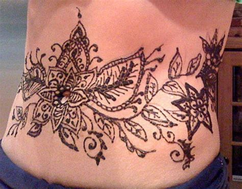 henna tattoo on stomach henna mehndi designs idea for stomach tattoos