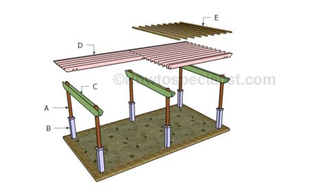 large pergola plans howtospecialist how to build step