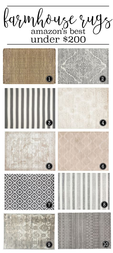 Farmhouse Style Kitchen Rugs by Where To Buy The Best Farmhouse Rugs 200