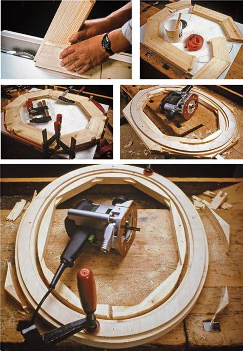 cornice legno fai da te cornice ovale fai da te con la fresatrice o il seghetto