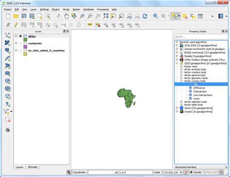 qgis clip tutorial 프로세싱 프레임을 이용한 일괄처리과정 qgis tutorials and tips