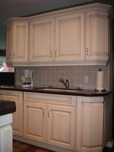 kitchen cabinets made simple tiny distressed white kitchen cabinets with round black