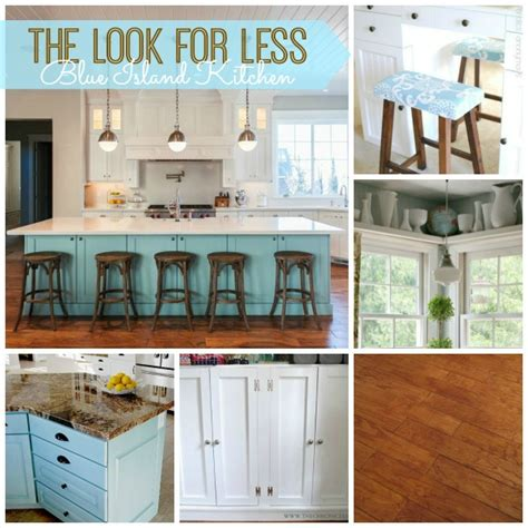 5 ways to get this look blue island kitchen infarrantly creative