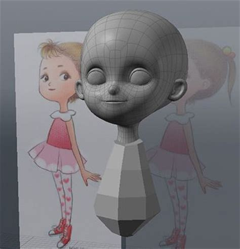 3d little girl pw 1000 images about character modeling help on pinterest