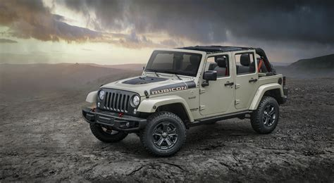 jeep rubicon offroad jeep reveals new wrangler rubicon recon for off road