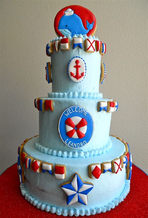 Baby Shower Cakes Nautical Theme by Sailboat Nautical Themed Baby Shower Ideas Free