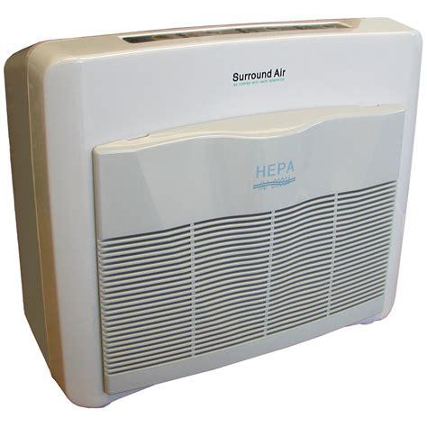 surround air xj 3000c multi tech ionic uv air purifier w pre filter carbon hepa filter w