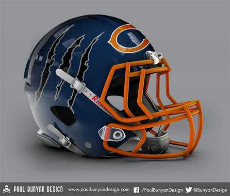 concept design nfl helmets my take on nfl concept helmets helmets paul bunyan and