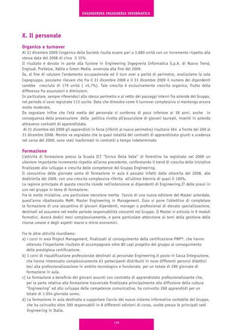 engineering ingegneria informatica sedi bilancio 2009 engineering ingegneria informatica spa