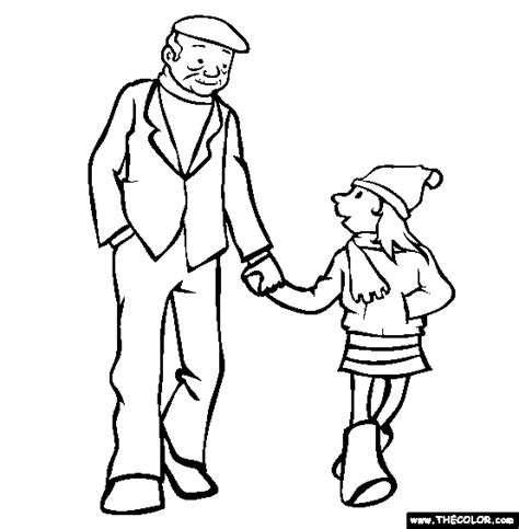 person walking coloring page online coloring pages starting with the letter t
