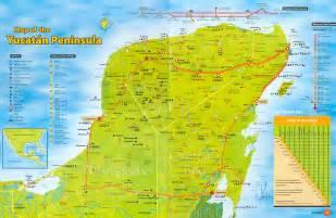 Yucatan Mexico Map by Map Yucatan Deboomfotografie