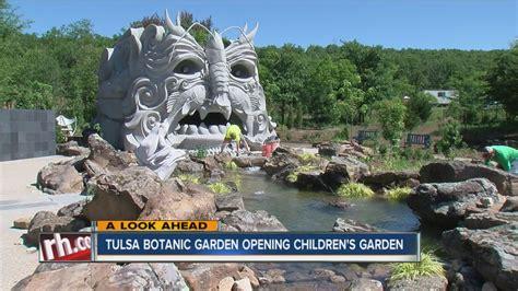 Tulsa Botanic Garden Tulsa Botanic Garden Opening Children S Garden