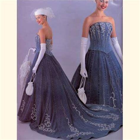 Dress Cool Denim Flower 25 best ideas about denim wedding dresses on