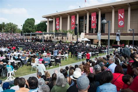 California State Northridge Mba Tuition by Csun Commencement Stays On Oviatt Lawn And To Include The