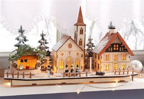 das fensterbank das weihnachtsdorf auf der fensterbank www bauwohnwelt at