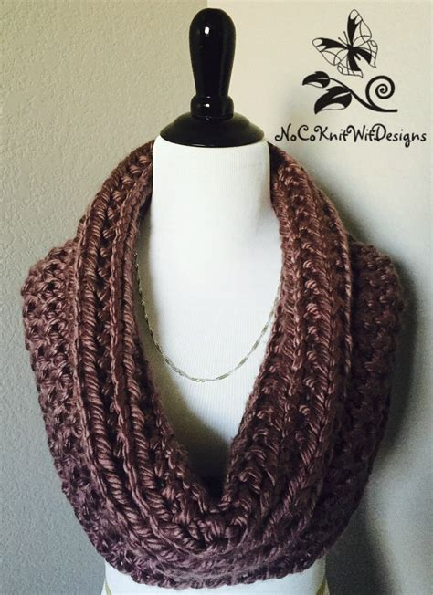 infinity scarf knitting pattern easy knit infinity scarf cowl pattern instant easy