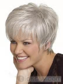 hairstyles for with gray hair hairstyles for short gray hair