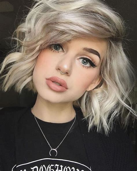 women short hairstyles for thick hair plantinum 30 excellent short bob haircut models you ll like hair