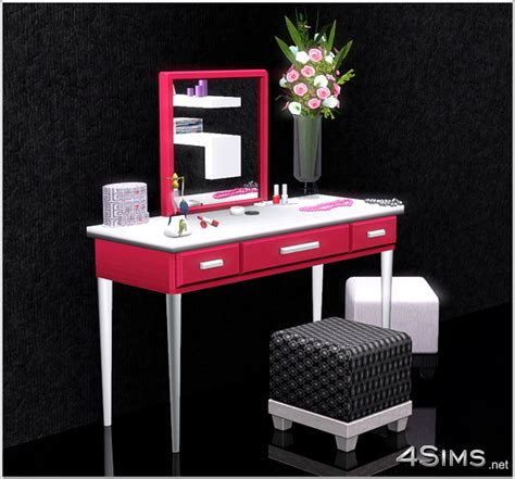modern bedroom vanity set modern vanity set for sims 3 4sims