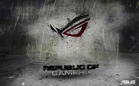 walpaper keren republic  gamers asus hancur blog
