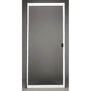 shop ritescreen steel sliding screen door common 36 in x
