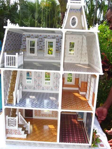 key west palm island estate dollhouse doll house plans