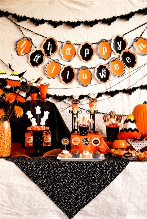 halloween event themes party themed d 233 cor ideas for halloween