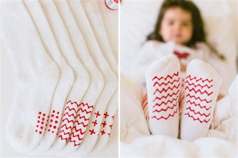 diy no slip socks for kidsomania