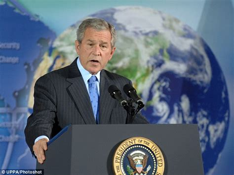 State Of The Union Bush Admits Climate Needs Attention by Officials Cannot Track 163 274m Given To George W