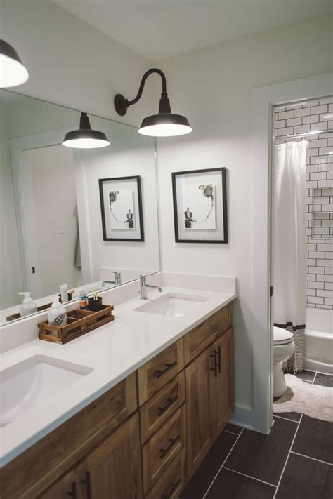 bathroom farmhouse style vanity bathroom lights vanity bathroom light fittings industrial ideas will make your housewarming the hit of the neighborhood