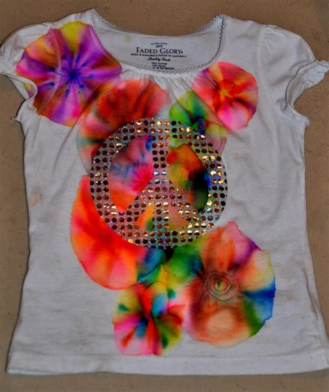 theartgirljackie tutorials tie dye t shirts with sharpie
