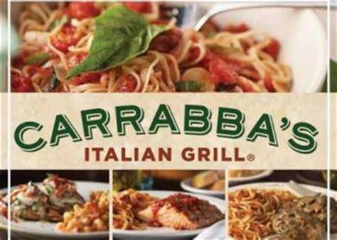 Carrabba S Gift Card Promotion - carrabba s italian grill bogo free lasagna entree