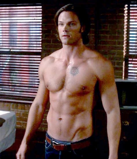 jared padalecki shirtless cw stars us weekly