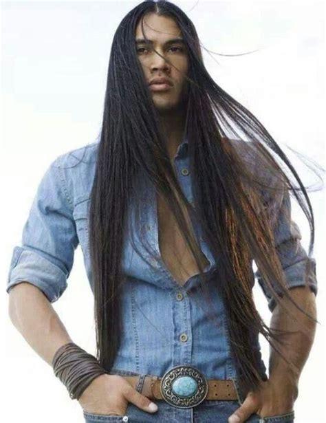 native men hairstyles 2013 sexy native american man long hair styles 56110b5282428