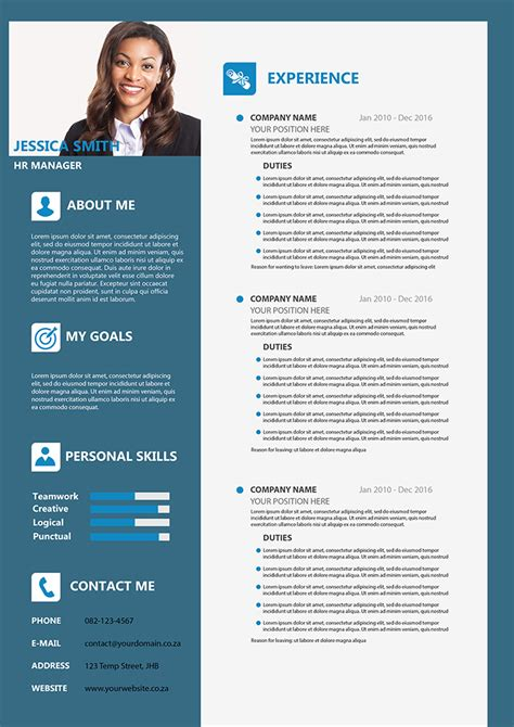 Formal Cv Template by Formal Cv