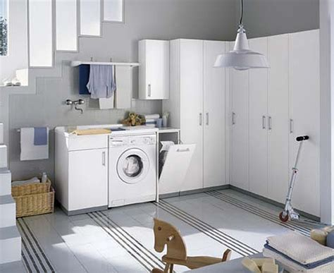 design laundry room white and colored laundry room cabinets from idea group