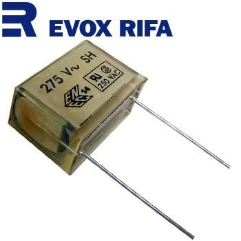 evox rifa metallized paper x2 capacitors pme271m hifi collective