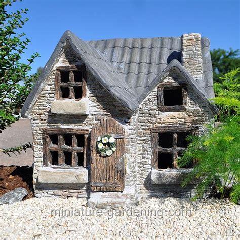 miniature garden cottages house with patio miniature garden