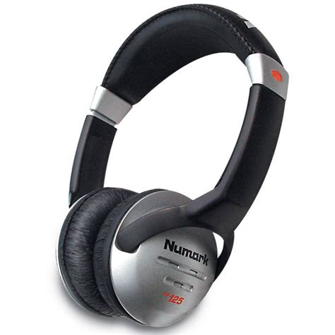 Headphone Numark numark hf125 professional dj studio headphones monitoring from inta audio uk